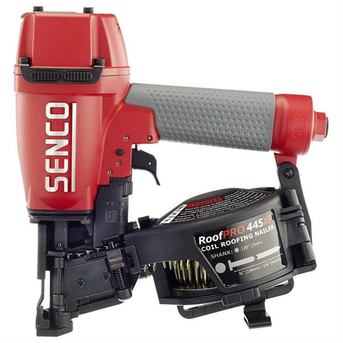 Factory-Reconditioned SENCO 8V0001R RoofPro 445XP 15 Degree 1-3/4 in. Air Coil Roofing Nailer