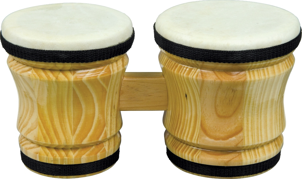 Rhythm Band Bongos Junior 6 in. H x 5 in. and 4-1 4 in. Dia by Rhythm Band