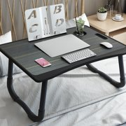 Folding Laptop Table, Bed Tray, Lap Desk Breakfast Tray for Couch Floor, Outdoor Camping Table