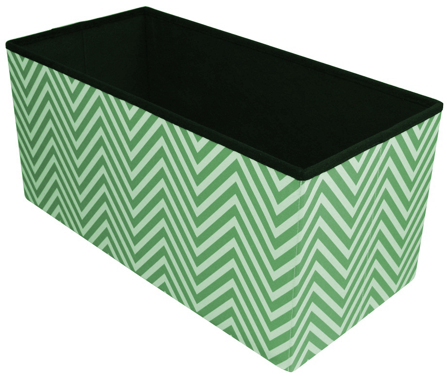 Pleasant Sorbus Chevron Storage Ottoman Bench Foldable Collapsible With Lid Cover Perfect Hassock Foot Stool Toy Storage Chest And More Medium Bench Andrewgaddart Wooden Chair Designs For Living Room Andrewgaddartcom
