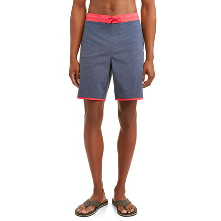 George Men's Solid 9-Inch E-board Swim Short, up to Size