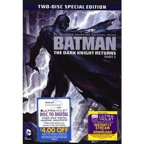Batman: The Dark Knight Returns, Part 1 (Two-Disc Special Edition) (DVD + Digital Copy With UltraViolet) (With INSTAWATCH) (Widescreen)