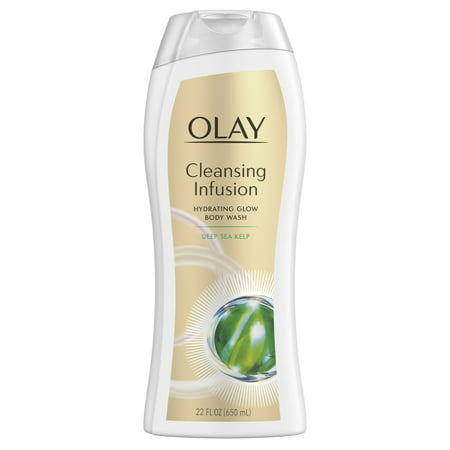 Olay Exfoliating Body Wash - Olay Cleansing Infusion Hydrating Body Wash with Deep Sea Kelp, 22 oz