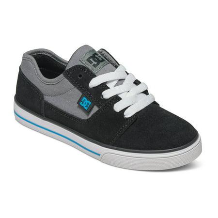 6c444fed1bc DC - DC Kid's Tonik Lace Up Skate Sneakers Black Leather 12.5 Little Kid M  - Walmart.com