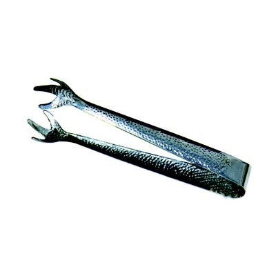 "47104 Hammered Stainless Steel 6-1 4"" Ice Tong, Model #: 47104 By Vollrath by"
