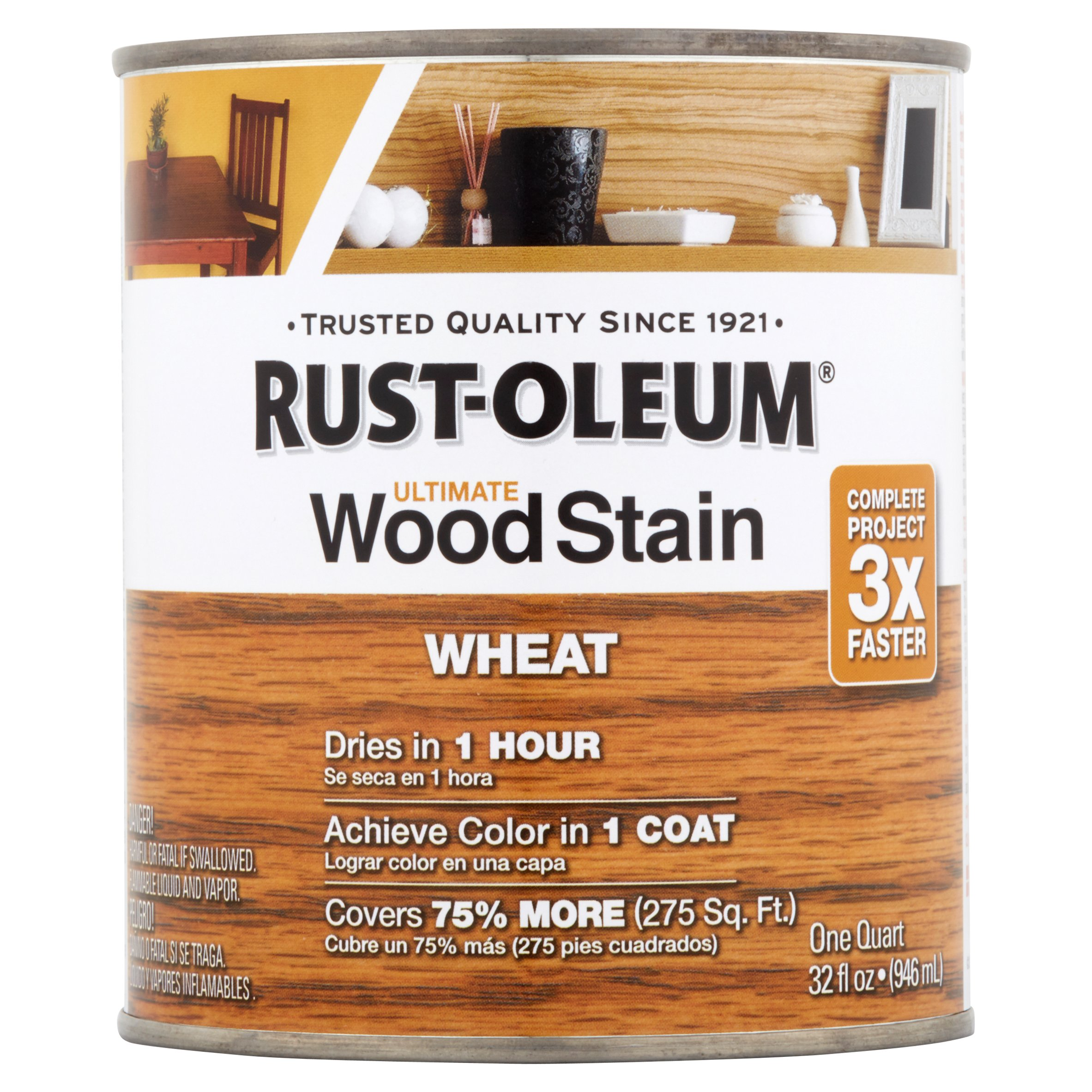 Rust-Oleum Wheat Ultimate Wood Stain, 32 fl oz