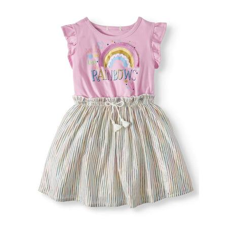 Forever Me Rainbow Dress (Toddler Girls)