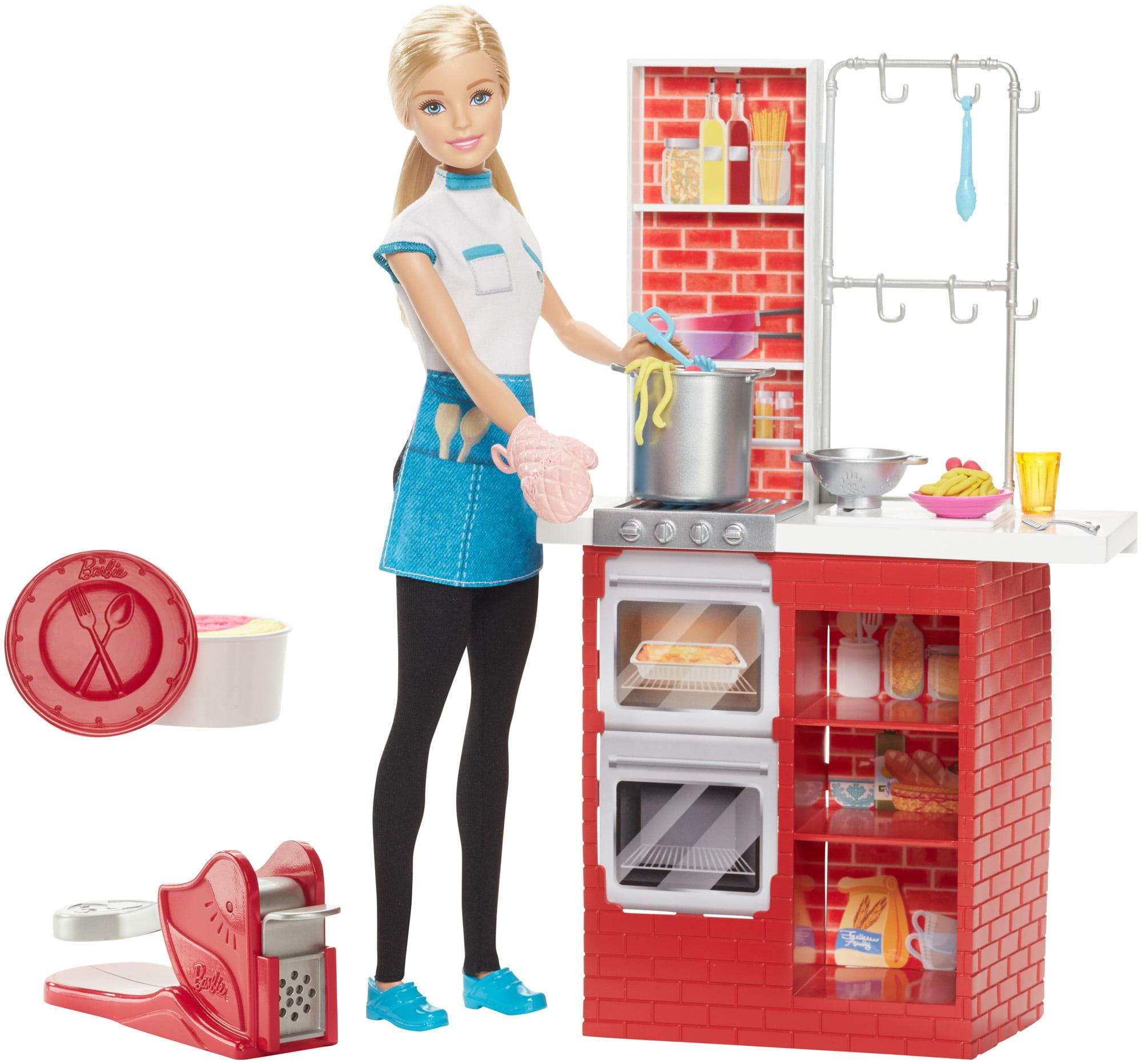 Barbie Spaghetti Chef Doll & Playset by MATTEL INC.