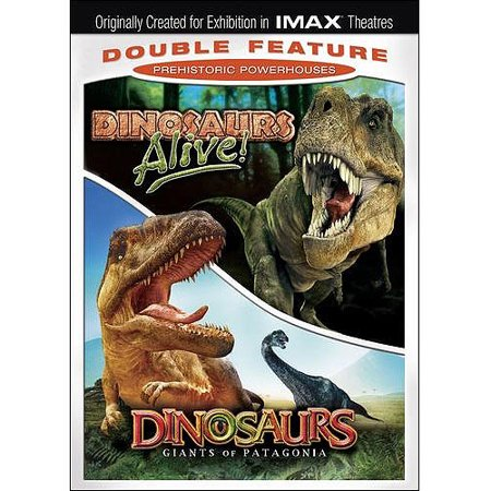 Dinosaurs Double Feature  Dinosaurs Alive    Dinosaurs  Giants Of Patagonia  Widescreen