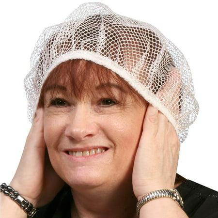 Hair Net Sleeping Cap to Preserve Hair Do (Cooking Hair Net)