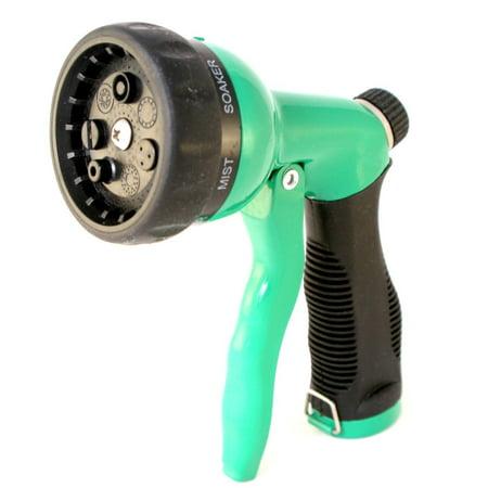 Leak Proof Garden Hose Nozzle Heavy Duty All Metal Water Sprayer For Watering