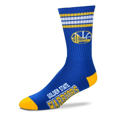 Golden State Warriors Youth Stripe Deuce Sock   Royal