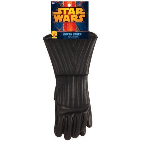 Darth Vader Gloves Adult Halloween Accessory - Rules For Halloween For Kids