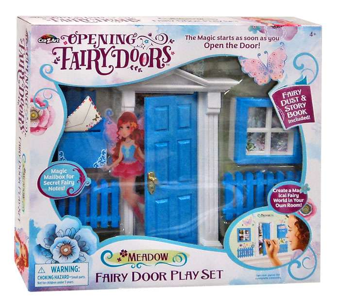 Opening Fairy Doors Meadow Fairy Door Playset
