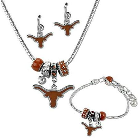 - Texas Longhorns MVP Jewelry Combo (Bracelet, Necklace, Earrings)