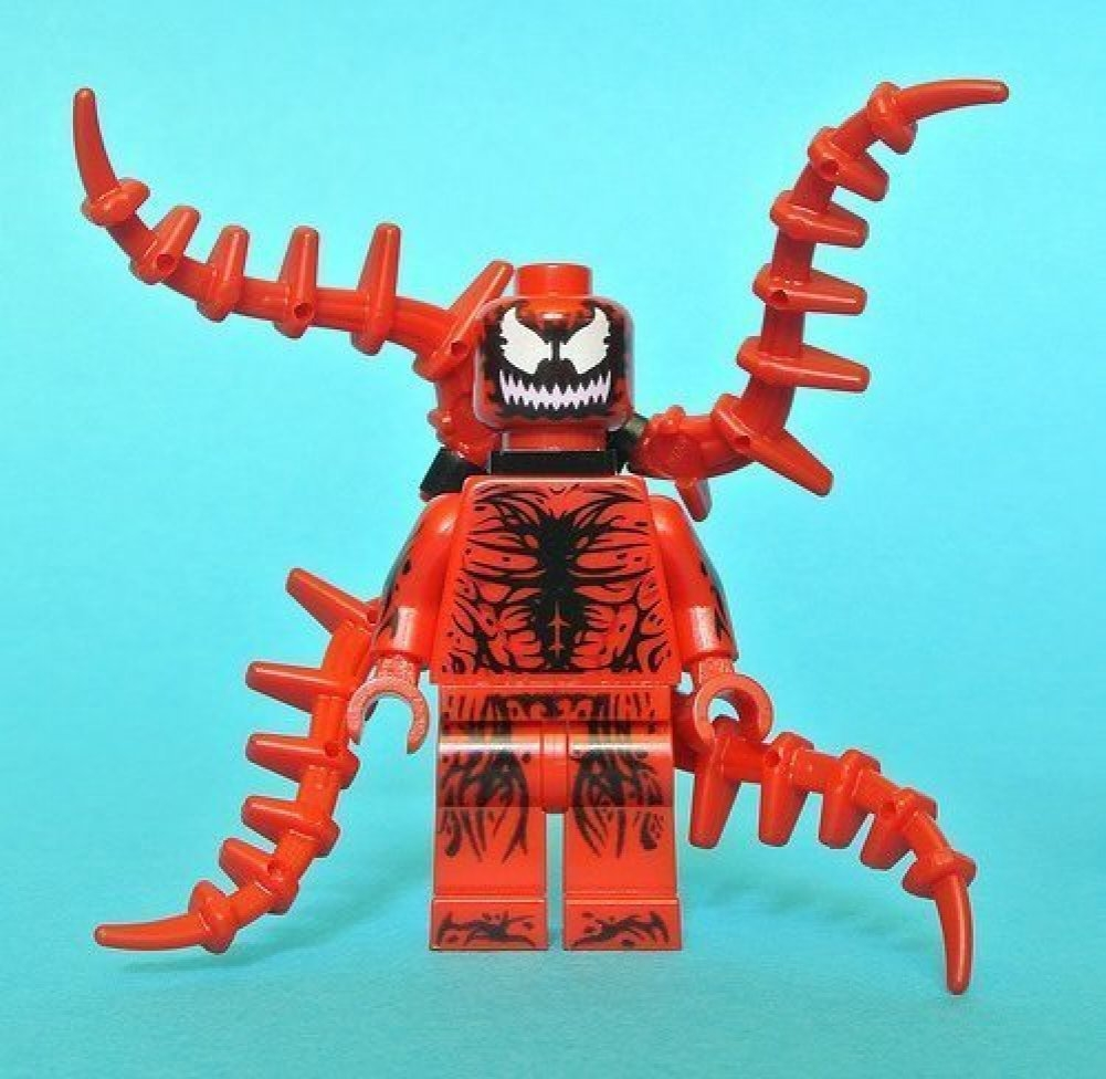 Lego Exclusive Carnage Minifigure 76036 Loose New 2015