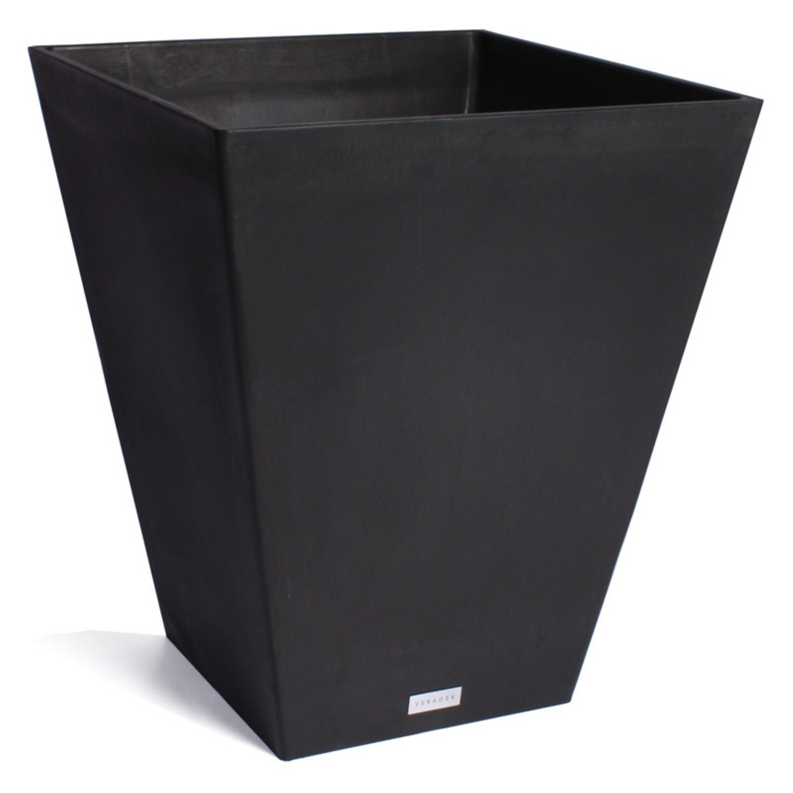 Veradek Nobleton Planter Black 18 in. by Veradek Inc