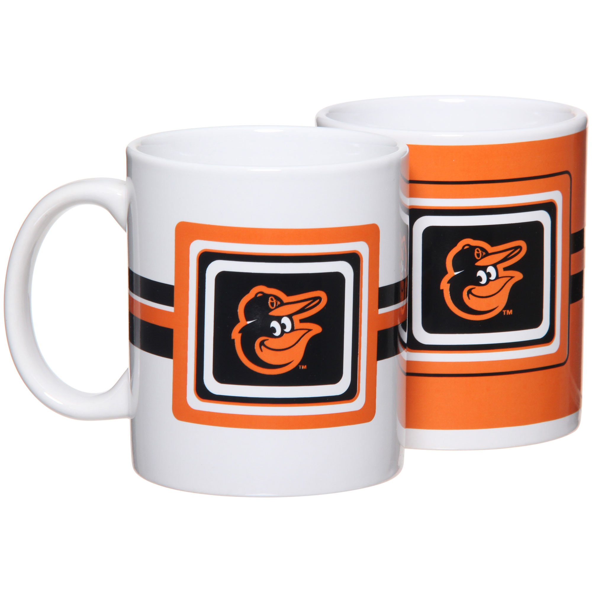 Baltimore Orioles 11oz. Two-Pack Mug Set - No Size