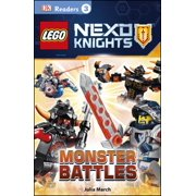 DK Readers L3: LEGO NEXO KNIGHTS: Monster Battles - eBook