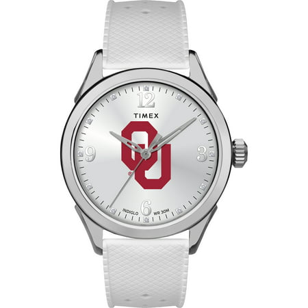 University of Oklahoma Sooners Ladies Silcone Athena Watch