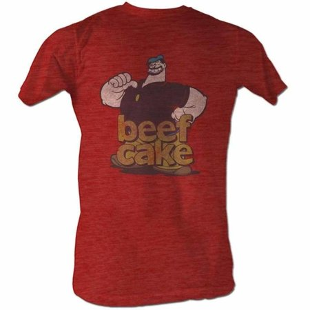 Popeye Costumes For Adults (Popeye Comics Beefcake Adult Short Sleeve T)