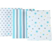 Little Bedding by NoJo Twinkle Twinkle Set of 3 Crib Sheets