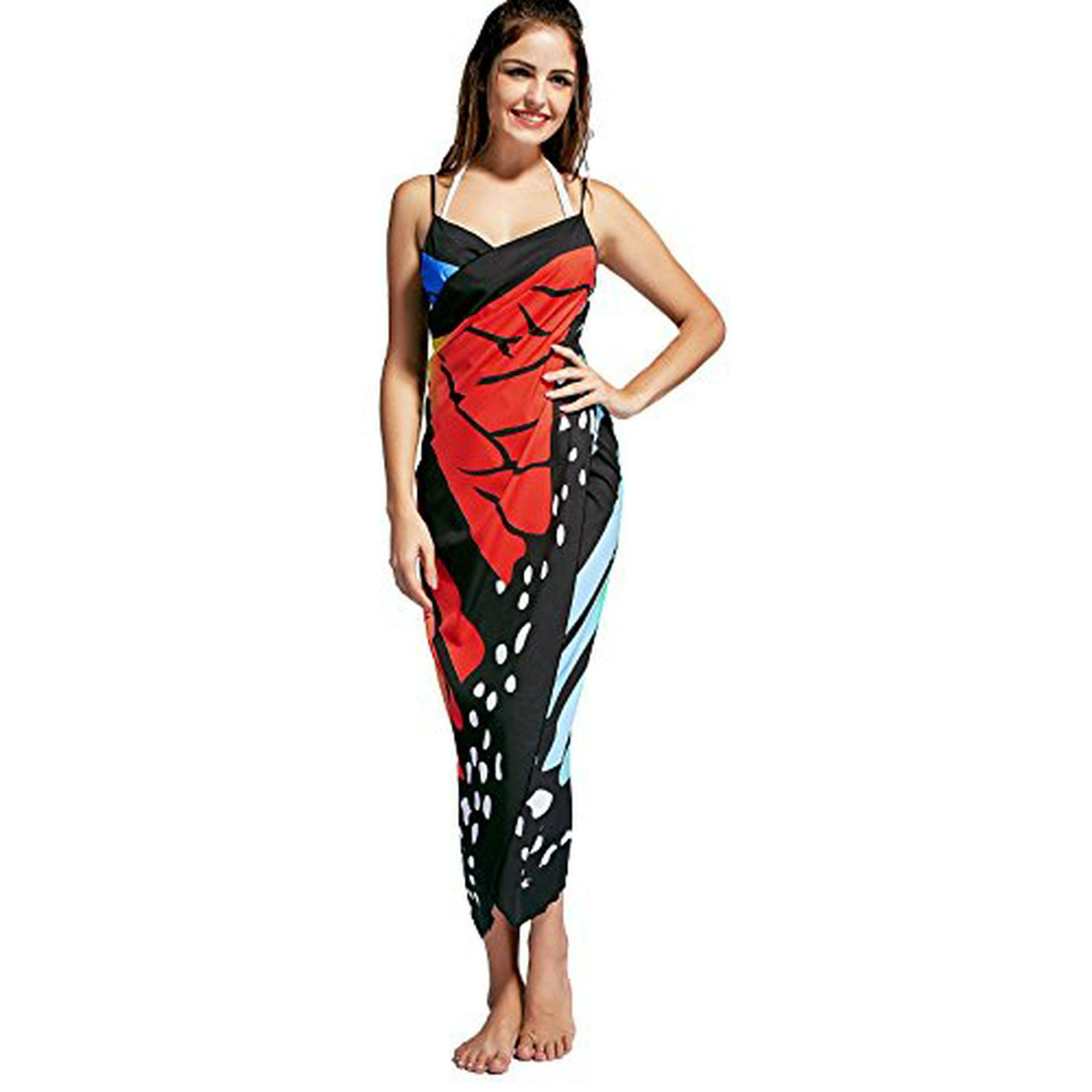 4814a8a6eb Womens Swimwear Beachwear Beach Dresses Sarong