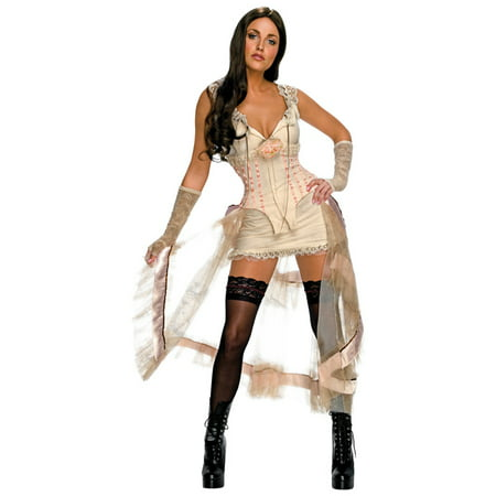 Jonah Hex Secret Wishes Lilah (White) Adult Costume](Halloween Wishes For Husband)