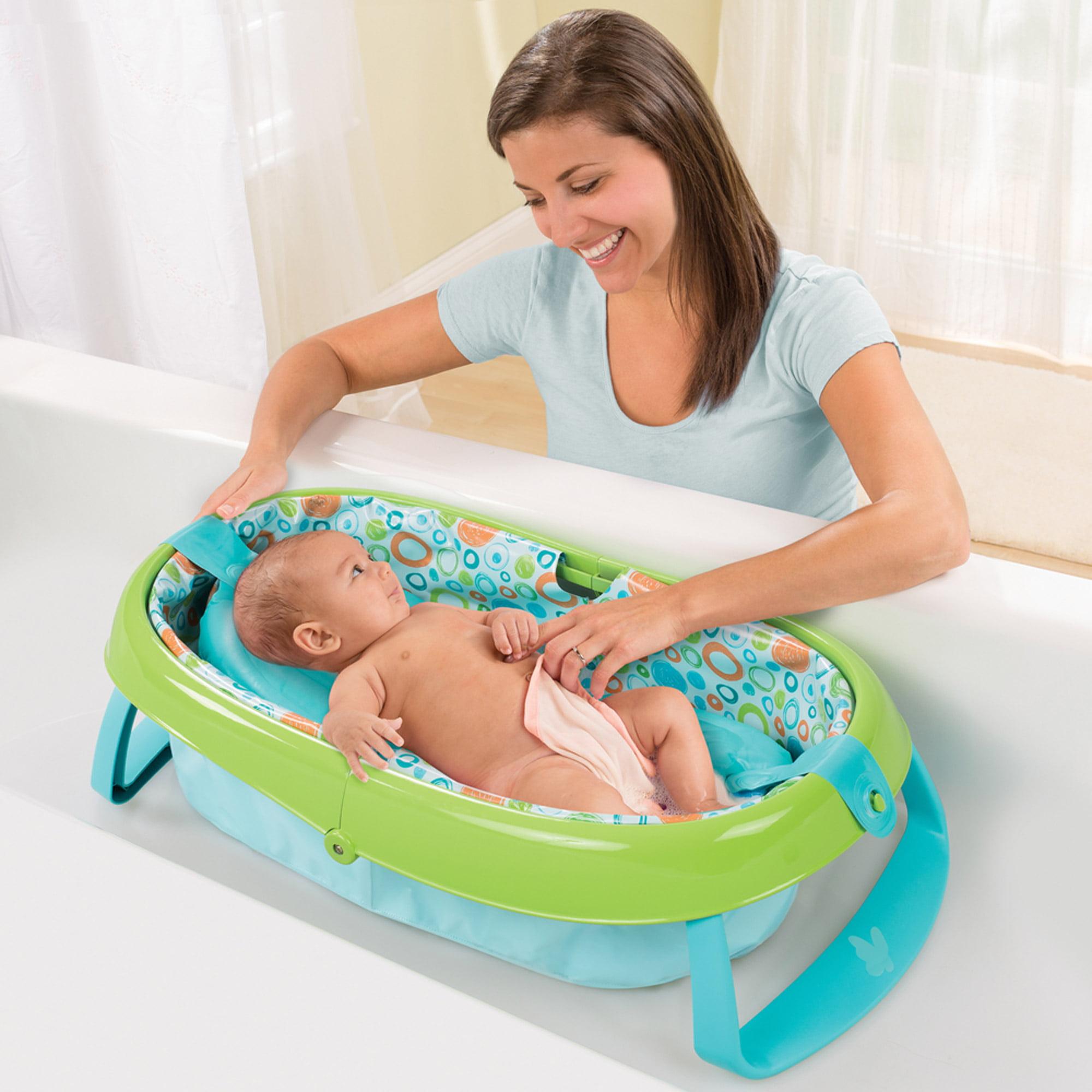 Summer Infant EasyStore Comfort Tub - Walmart.com