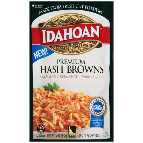 Idahoan Premium Hash Browns, 3 oz