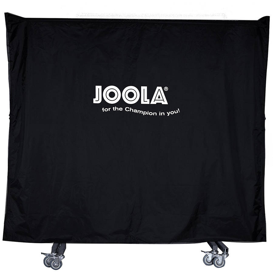 JOOLA Dual-Function Indoor/Outdoor Waterproof Table Cover, Black