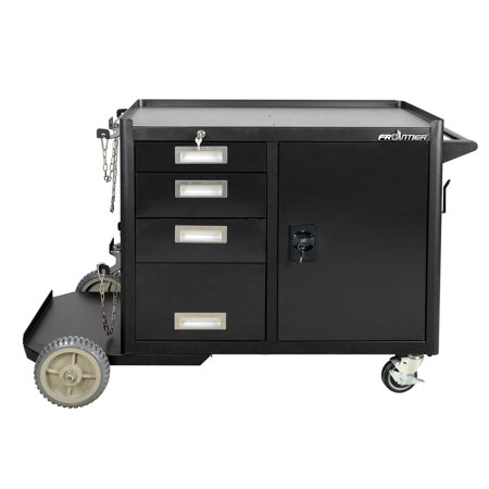 Heavy Duty Tool Box Liner - FRONTIER Heavy Duty welding cart and tool box storage cabinet, 56.58-inch W x 32.75 H x 20.3 D