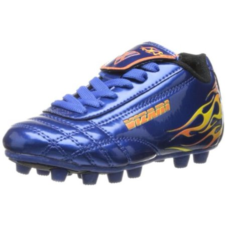 Vizari Boys Blaze Cleats Metallic Soccer Shoes