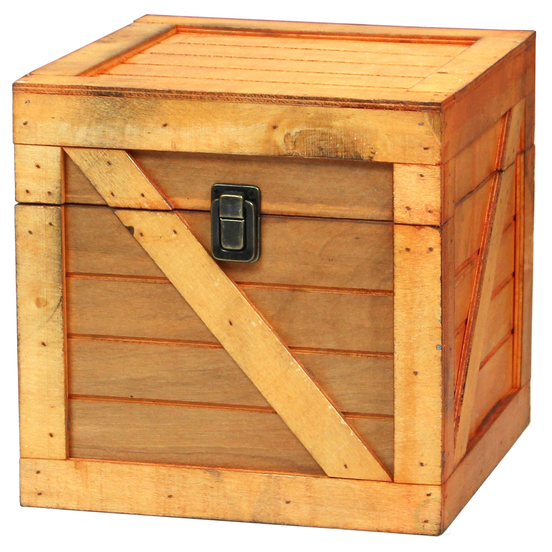 Wood Urban Shop WK639921 Nesting Storage Crates