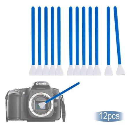 Loadstone Studio Camera Lens Filter Cleaning Kit, 12 Pack Digital Camera Sensor Cleaning Swab Stick, Photo Studio, (Digital Sensor Cleaning Kit)