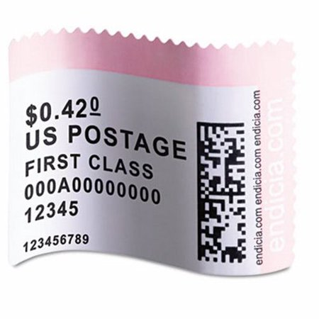 Dymo LabelWriter Postage Stamp Labels, 1-5/8 x 1-1/4, White, 200/Roll