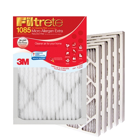 17.5x23.5x1 Filtrete Micro Allergen Air Filter (17.1x23.1x.875 - Actual Size) 6 Pack