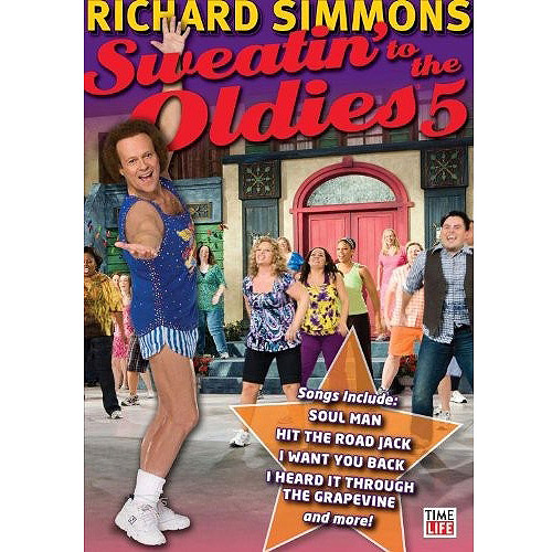 Richard Simmons Sweatin to the Oldies Clip Art