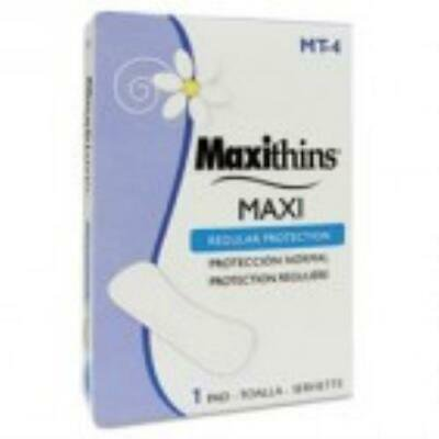 HOSPECO Maxithins Thin, Full Protection Pads Folded Maxithins Pads