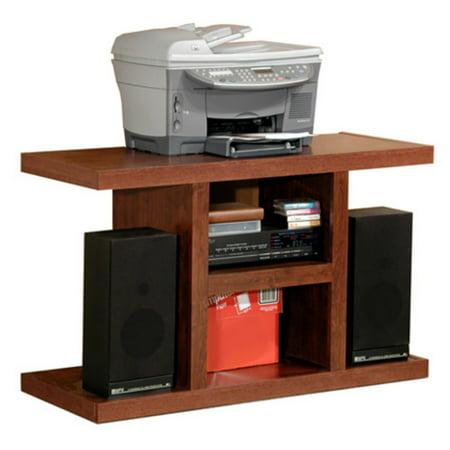Rush Furniture Charles Harris Pedestal TV Stand - Dark
