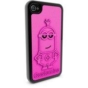Apple iPhone 4 and 4S 3D Printed Custom Phone Case - Despicable Me - Kevin