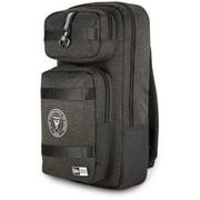 Inter Miami CF New Era Slim Tech Backpack - Heathered Black