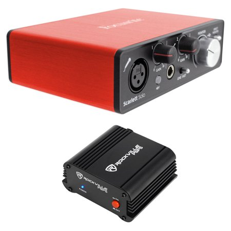focusrite scarlett solo 2nd gen usb 2 0 audio interface phantom power supply. Black Bedroom Furniture Sets. Home Design Ideas
