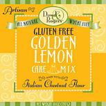 Golden Lemon Cake Mix Dowd And Rogers 14 oz Powder
