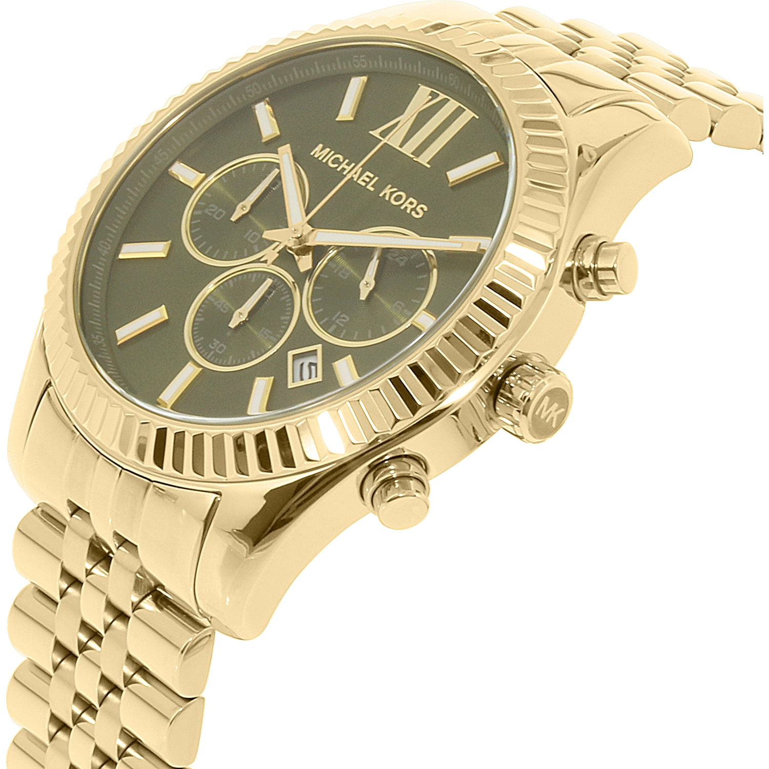 Michael kors damenuhr gold lexington