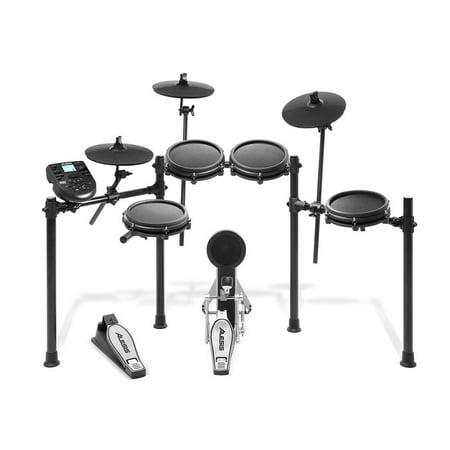 Alesis Complete 8 Piece Electronic Nitro Portable Drum Kit Set with Mesh - Yamaha Electronic Drum
