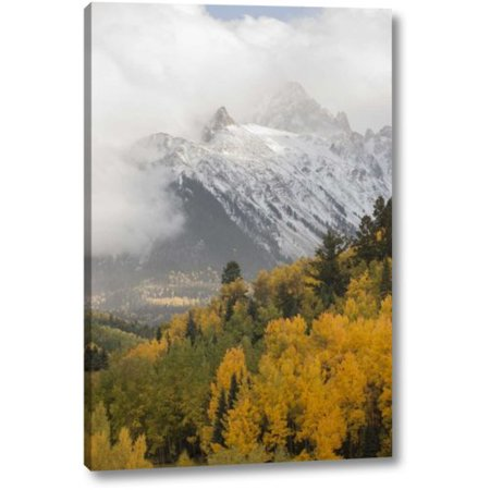 Millwood Pines 'Colorado, Sneffels Range Mt Sneffels at Sunset' Photographic Print on Wrapped Canvas
