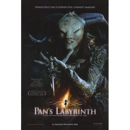 Pan's Labyrinth (2006) 27x40 Movie Poster - Labyrinthe Halloween
