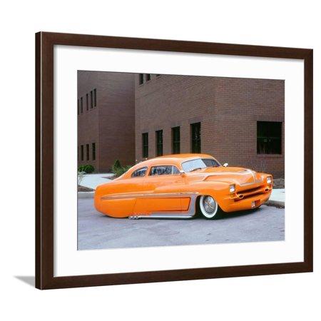 1950 Mercury Monarch Customised Framed Print Wall