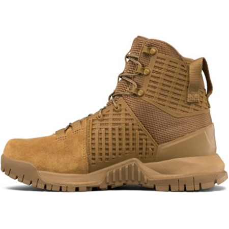 479b5b83d6 UNDER ARMOUR Women's UA Stryker Tactical Boots - Coyote Brown - Size 6.5